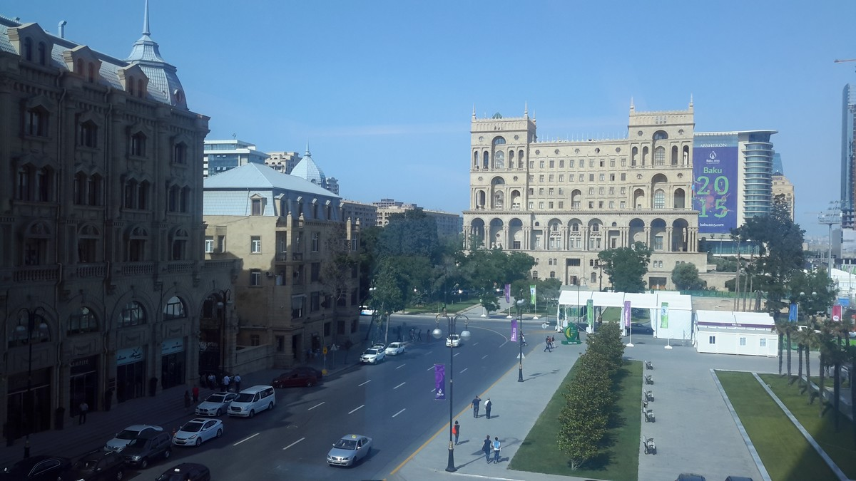 Baku is ready for the opening of the 1st Europen Games